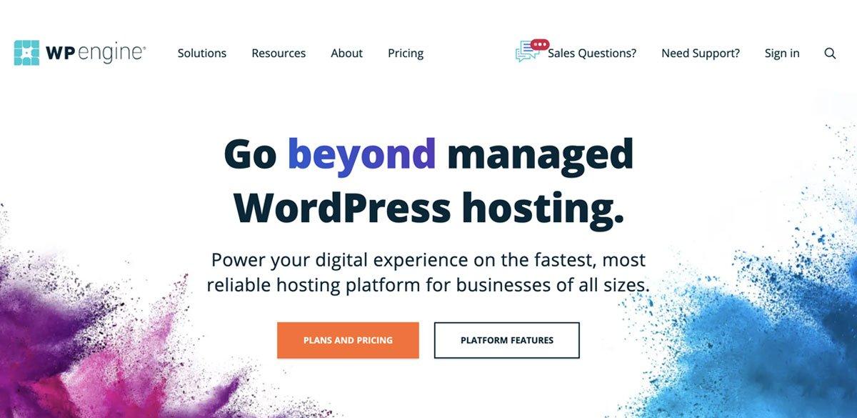 wp engine wordpress hosting in 2021