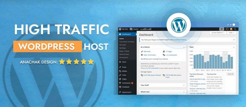 wordpress hosting for high traffic