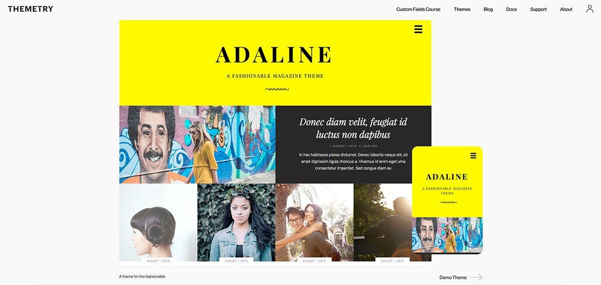 Adaline-wp-theme