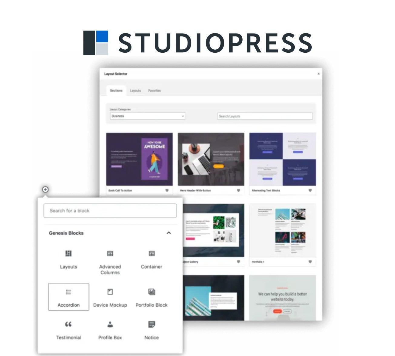 studiopress wp