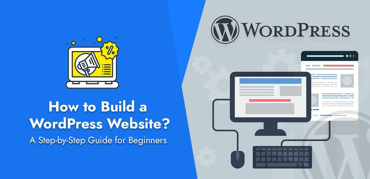 wordPress how to build a website